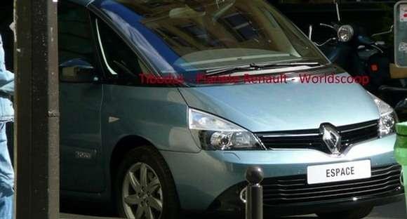 Renault Espace 2013 przyłapane