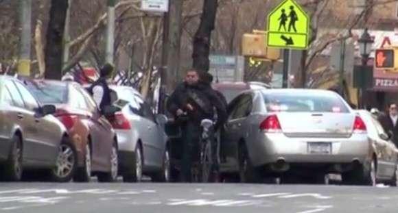 Rowerzysta vs policja