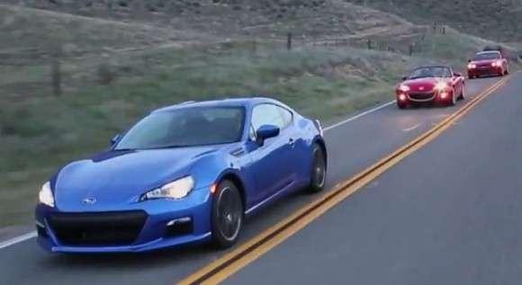 Subaru BRZ vs Mazda MX-5 vs Hyundai Genesis Coupe