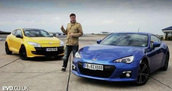 Subaru BRZ vs Renault Megane 265 Trophy