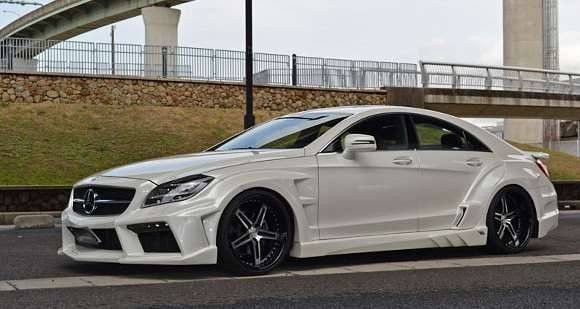 Mercedes-Benz CLS Vitt Performance tuning