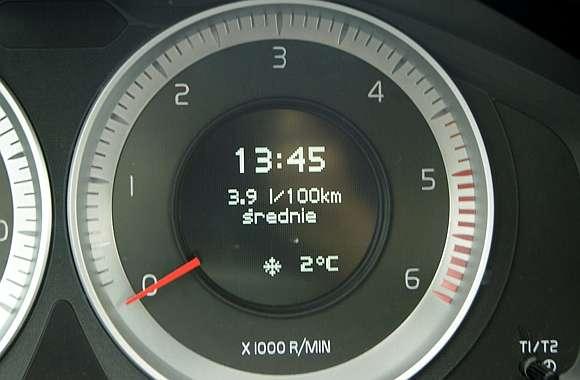 Licznik Volvo niskie spalanie