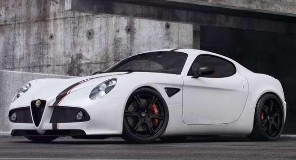 Alfa Romeo 8C Wheelsandmore tuning