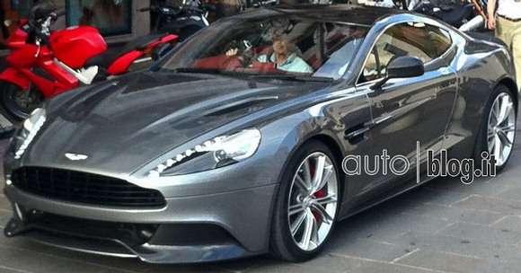 Aston Martin Vanquish 2013 przyłapany