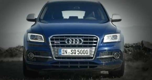 Audi SQ5 TDI przód