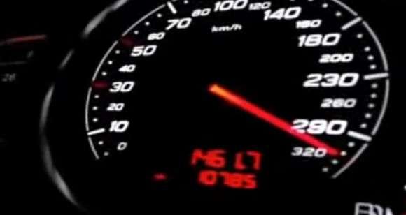 Audi TT RS licznik