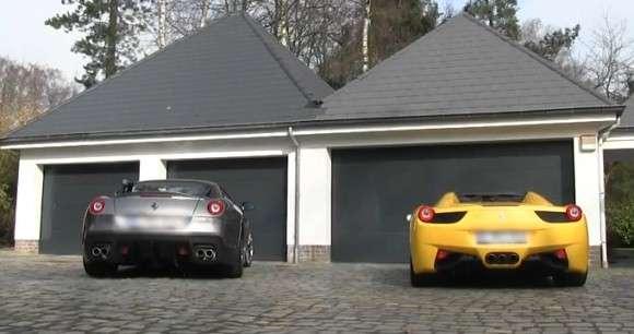 Ferrari 458 Spider vs 599 GTO
