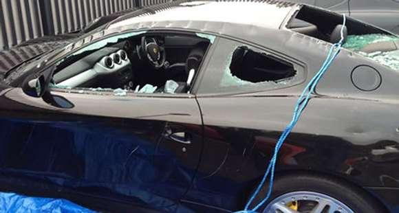 Ferrari 612 Scaglietti zniszczone