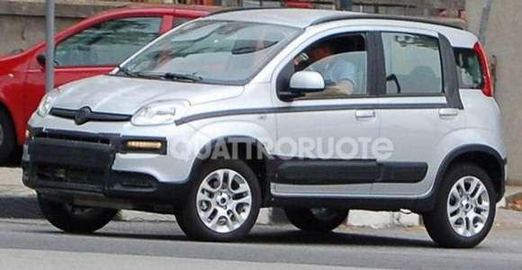 Fiat Panda 4x4 zdjęcia szpiegowskie