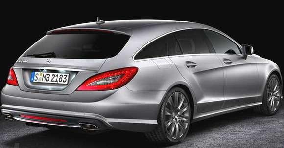 Mercedes CLS Shooting Brake 2013 tył