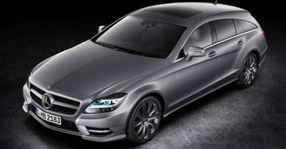 Mercedes CLS Shooting Brake 2013 przód