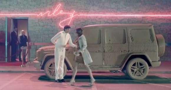 Mercedes-Benz klasy G 2013 reklama