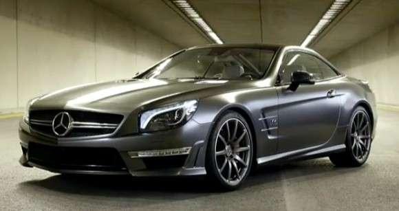 Mercedes SL65 AMG V12 45th Anniversary