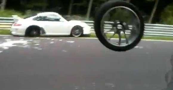 Porsche 911 GT3 RS bez koła