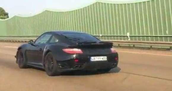 Nowe Porsche 911 Turbo wideo szpiegowskie