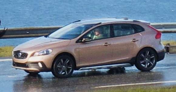 Volvo XC40 przyłapane
