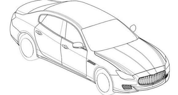 Maserati Quattroporte patent