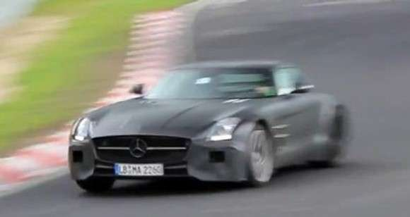 Mercedes-Benz SLS AMG Black Series 2014 szpiegowskie