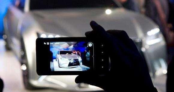 Nowy Lexus LS zamknięta prezentacja