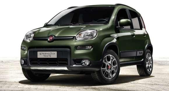Nowy Fiat Panda 4x4 2013