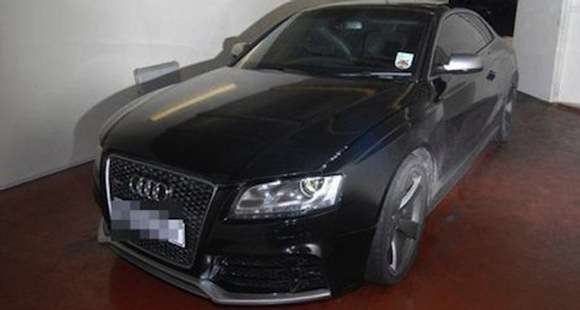 Kradzione Audi