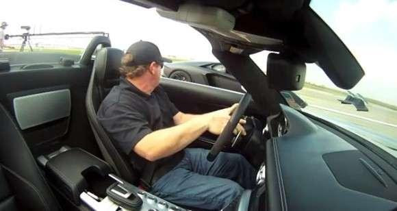 SLS AMG vs Aventador