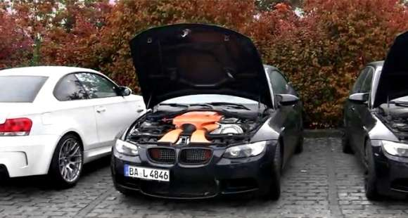 BMW M3 Akrapovic