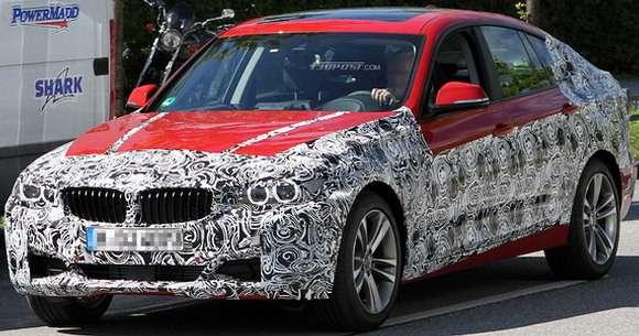 BMW serii 3 GT szpiegowskie