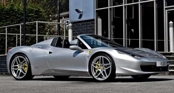 Ferrari 458 Spider Kahn Design tuning