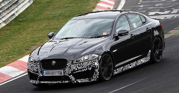 Jaguar XFR-S nowe zdjęcia szpiegowskie