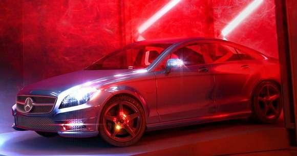 Mercedes CLA 2013 pierwsze zdjęcie