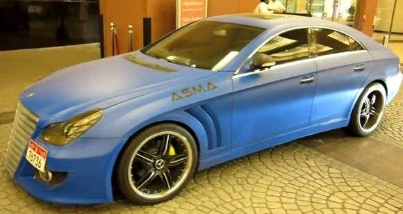 Mercedes CLS 55 AMG Asma Design tuning
