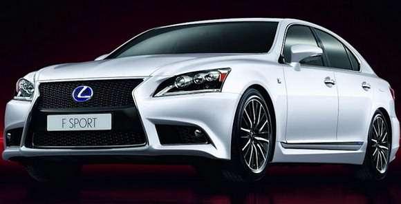 Lexus LS F-Sport 2013