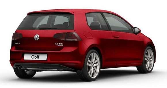 Trzydrzwiowy VW Golf 7 2013