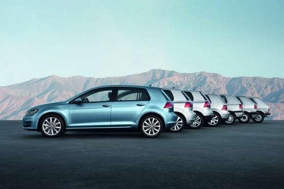 Wszystkie generacje Volkswagena Golfa