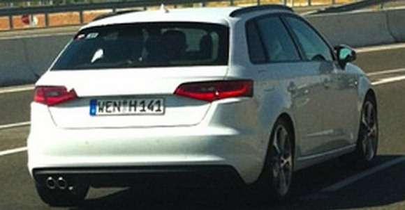 Audi A3 Sportback 2013 przyłapane