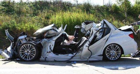 BMW serii 3 po wypadku
