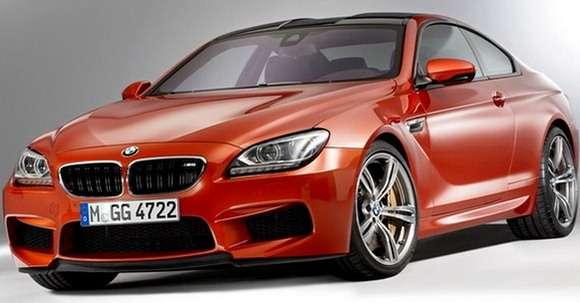 Nowe BMW M6 przód