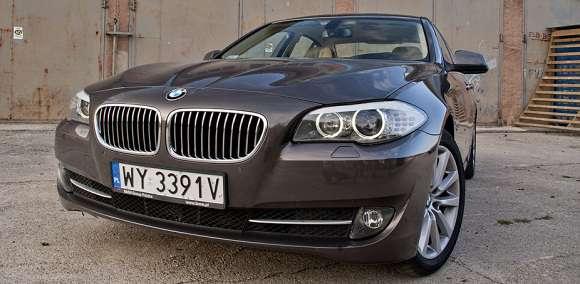 BMW 525d xDrive przód