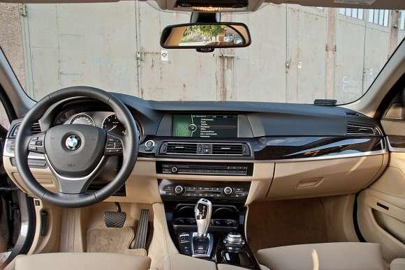 BMW 525d xDrive wnętrze
