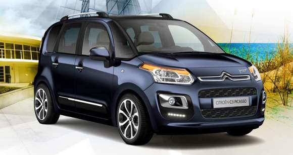 Citroen C3 Picasso facelifting