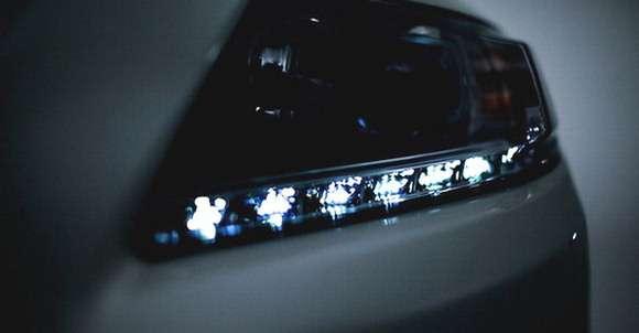 Nowa Honda CR-Z teaser LED