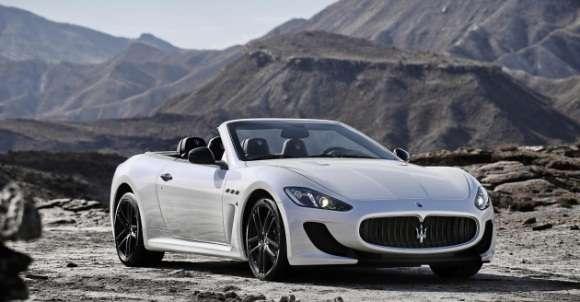 Nowe Maserati GranCabrio MC
