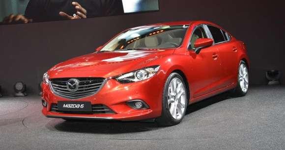 Nowa Mazda6 Paryż