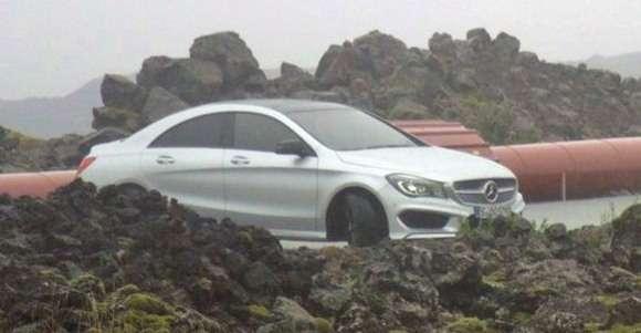 Nowy Mercedes CLA 2013 bez kamuflażu