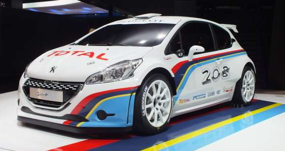 Peugeot 208 R5 Rally