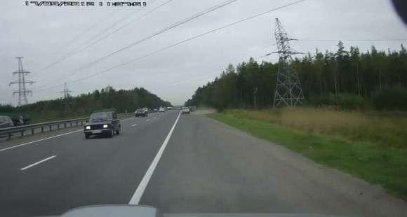 Pod prąd na autostradzie