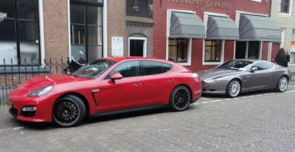 Porsche Panamera vs Aston Martin DB9