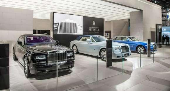 Rolls Royce Paryż 2012