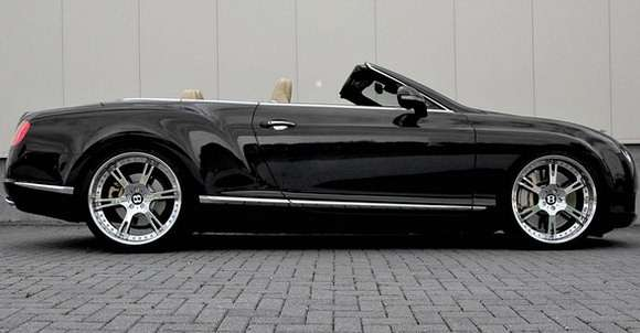 Bentley Continental GTC Wheelsandmore